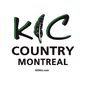 Logo de la radio 89.9 KIC Country Montréal