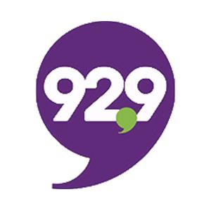 Logo de la radio CFUT 92.9 FM