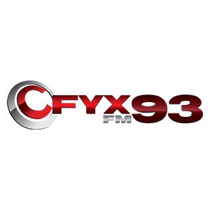 Logo de la radio CFYX 93.3 FM