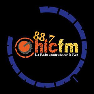 Logo de la radio CHIC 88.7 FM