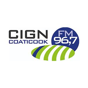Fiche de la radio CIGN 96.7 FM