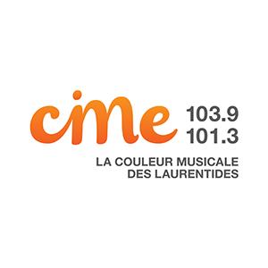 Logo de la radio CIME FM Laurentides