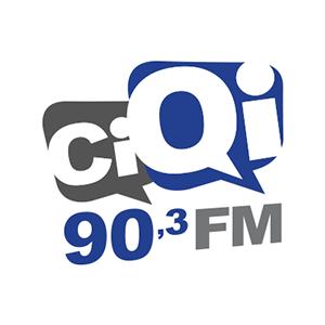 Logo de la radio CiQi 90.3 FM