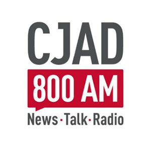 Logo de la radio CJAD 800 AM