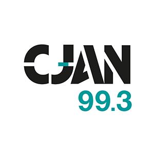 Logo de la radio CJAN 99.3 FM