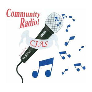 Logo de la radio CJAS 93.5 FM