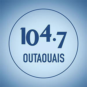 Logo de la radio CKOF 104.7 FM Outaouais
