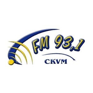 Logo de la radio CKVM 93.1 FM