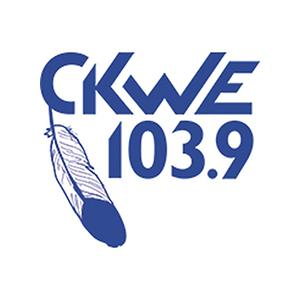 Logo de la radio CKWE 103.9 FM