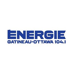 Fiche de la radio Énergie 104.1 FM Gatineau