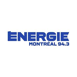Fiche de la radio Énergie 94.3 FM Montréal