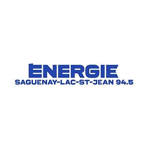 Fiche de la radio Énergie 94.5 FM Saguenay-Lac-St-Jean