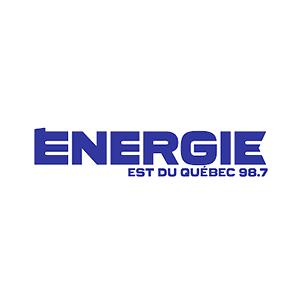 Fiche de la radio Énergie 98.7 FM Est du Québec