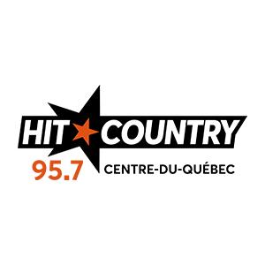 Fiche de la radio Hit Country 95.7 FM Centre-du-Québec