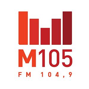 Logo de la radio M105 104.9 FM