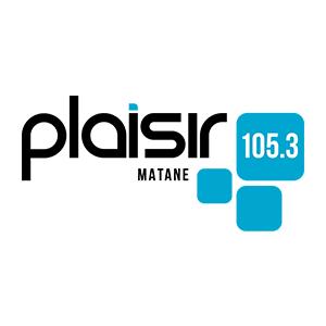 Fiche de la radio Plaisir 105.3 FM Matane