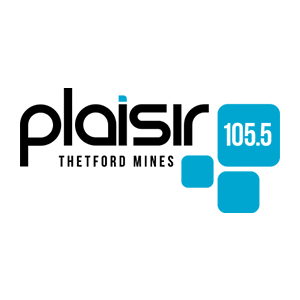 Fiche de la radio Plaisir 105.5 FM Thetford Mines