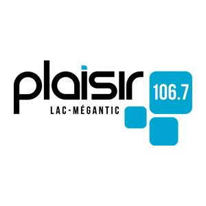 Fiche de la radio Plaisir 106.7 FM Lac-Mégantic