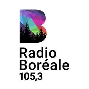 Logo de la radio Radio Boréale 105.3