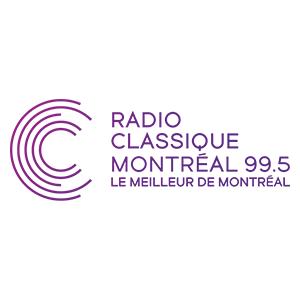 Fiche de la radio Radio Classique 99.5 FM Montréal