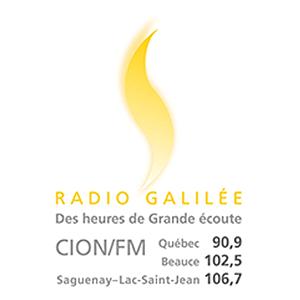 Logo de la radio Radio Galilée 106.7 FM Saguenay-Lac-St-Jean