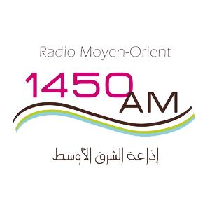 Logo de la radio Radio Moyen-Orient 1450 AM