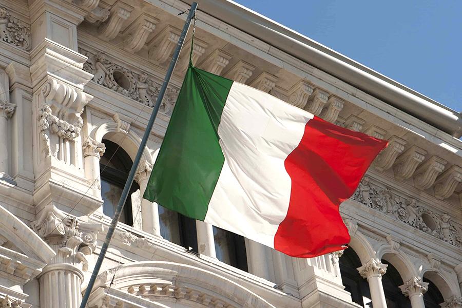 Radio diffusant de la musique italienne au Québec