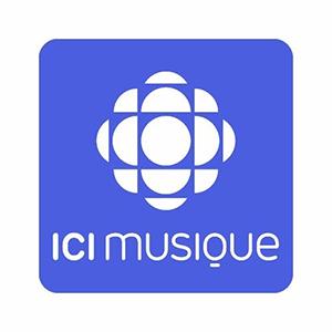 Logo de la radio ICI Musique 90.7 FM Sherbrooke